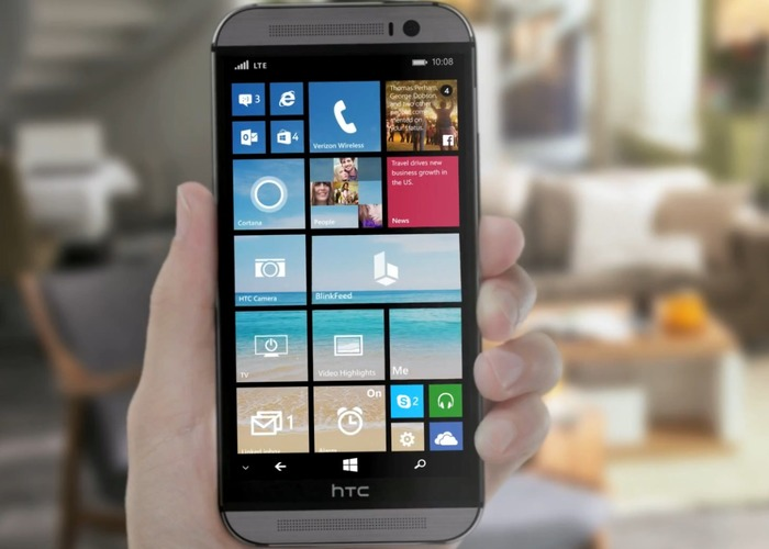 HTC One M8 for Windows cabecera