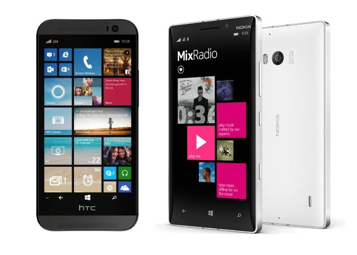 Comparativa HTC frente al Nokia