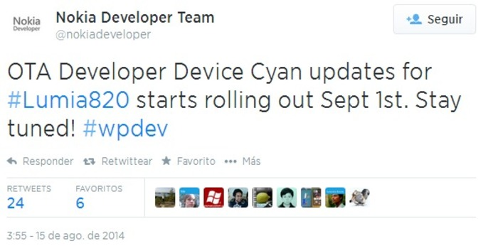 Preview Lumia Cyan 820