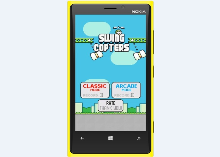 Swing Copters Fly cabecera 1