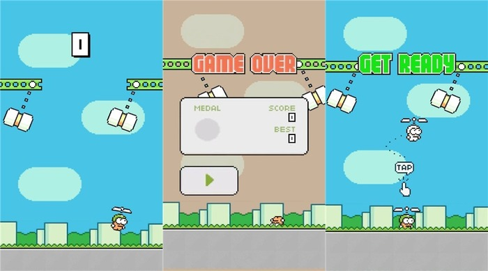 Swing Copters Fly capturas