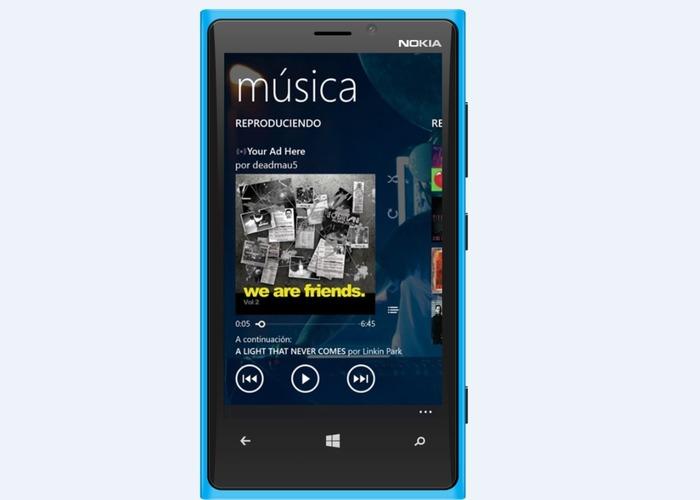 Xbox Music actualizacion cabecera