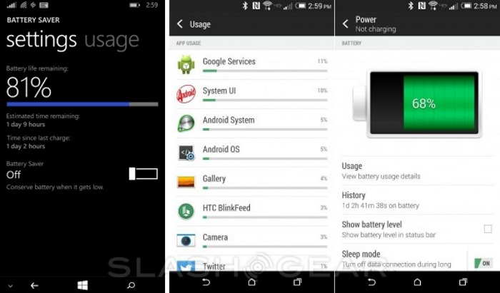 bateria windows phone android 2