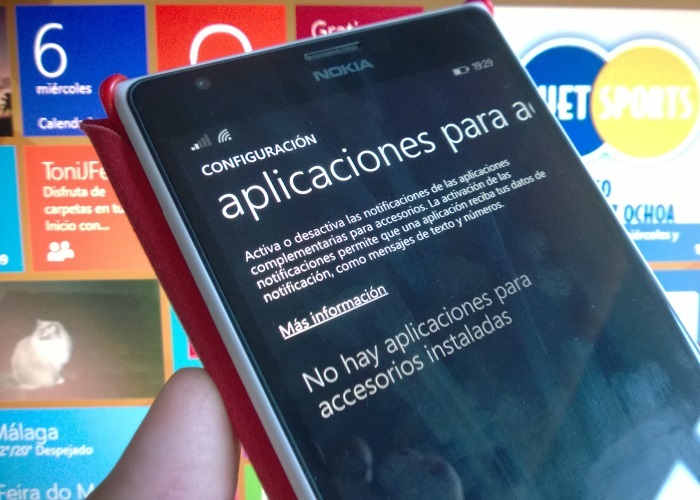 notificaciones windows phone 8.1 update 1