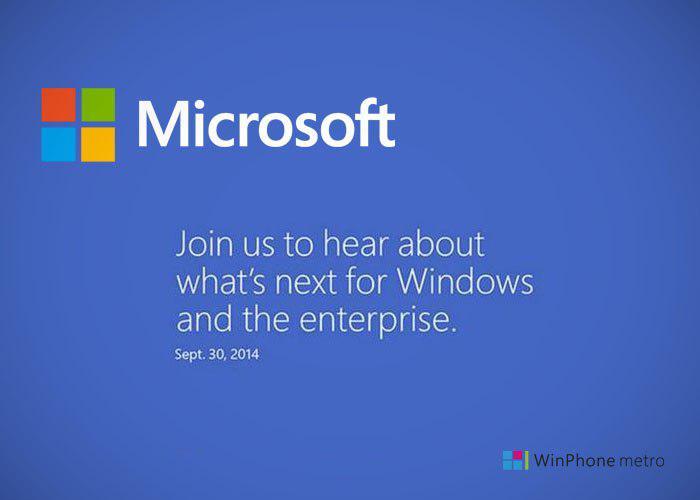 Evento Microsoft 30 septiembre