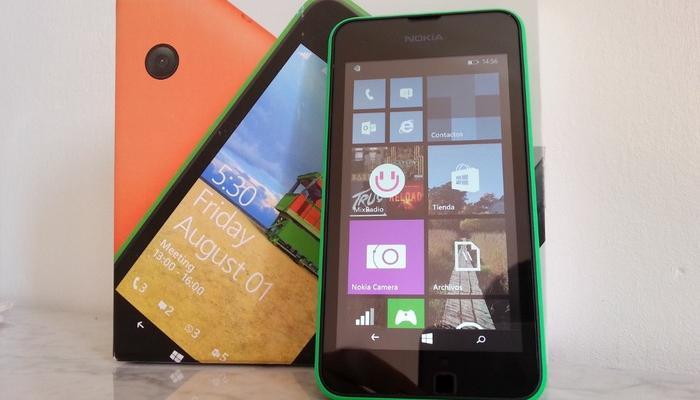 Lumia 530 análisis cabecera