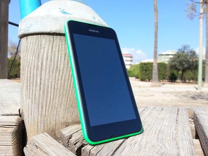 Lumia 530 pantalla apagada