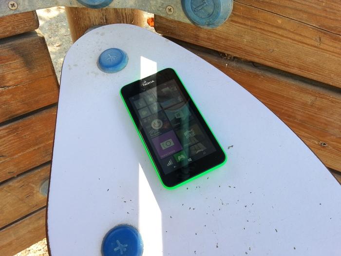 Lumia 530 pantalla