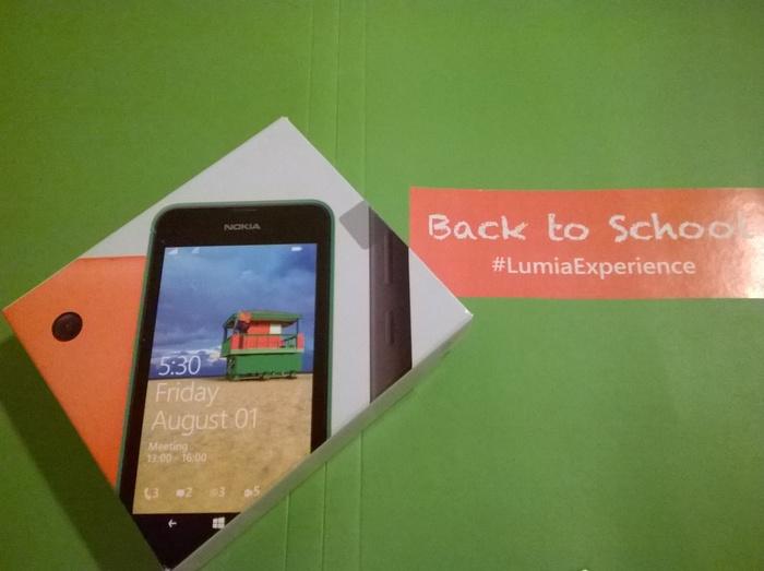 Lumia 530 test camara luz artífical