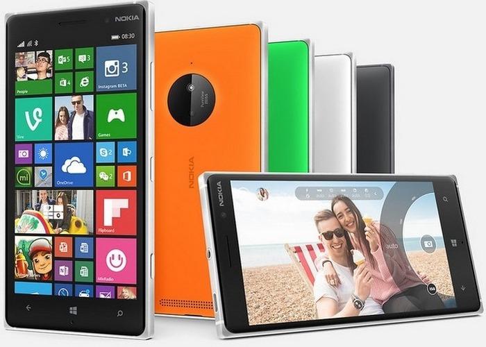 Lumia 830 cabecera