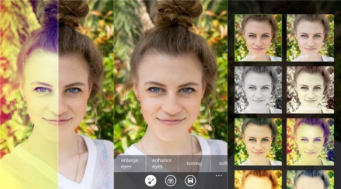 Lumia Selfie captura