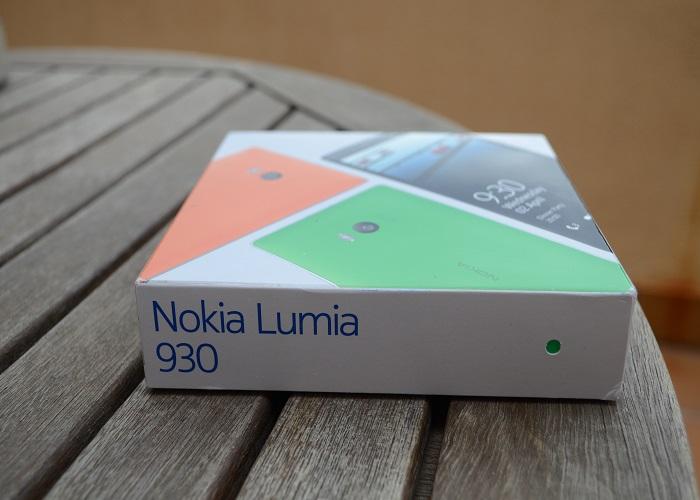 Nokia Lumia 930 caja