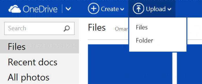 Subida-archivos-one-drive