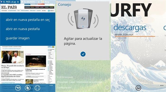 Surfy 5 Windows Phone