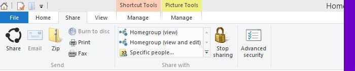 Barra de herramientas explorador de archivos Windows 10