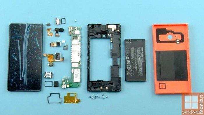 Lumia 735 por dentro