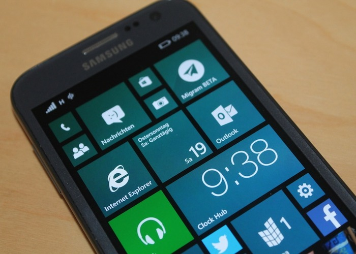 Samsung ATIV S Windows Phone 8.1 actualizacion
