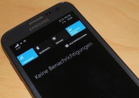 Samsung ATIV S notificaciones