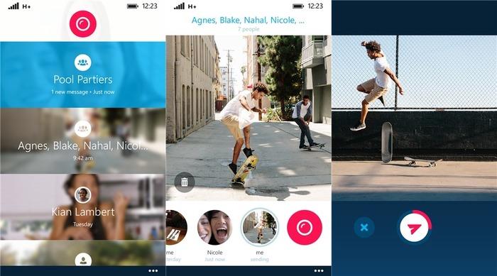 Skype Qik capturas