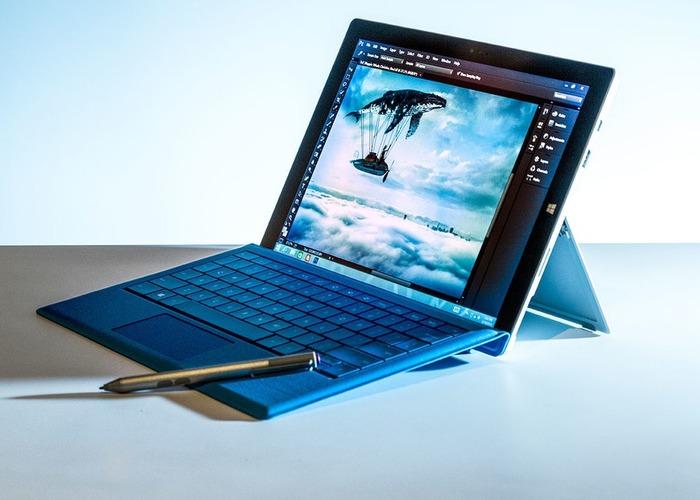 Surface Pro 3 Photoshop