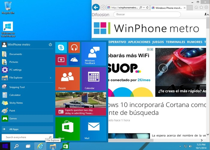 Windows 10 cabecera