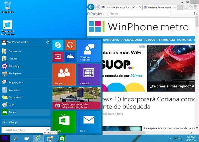 Windows 10 cabecera