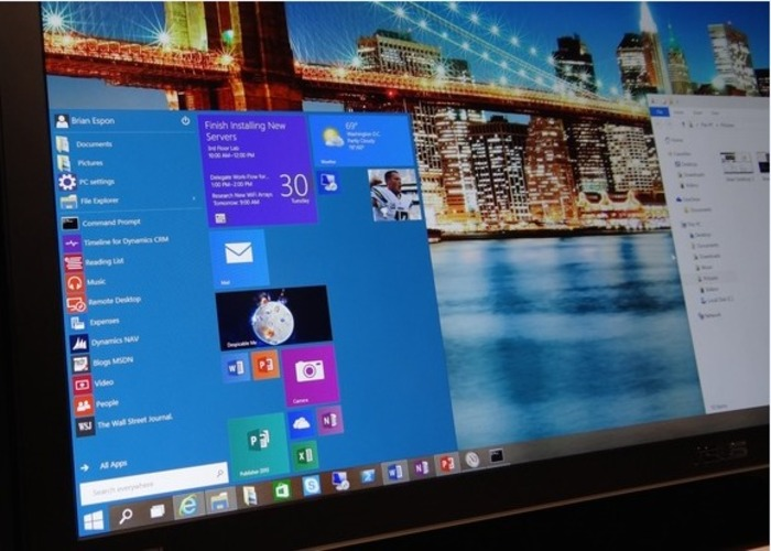 Windows 10 captura