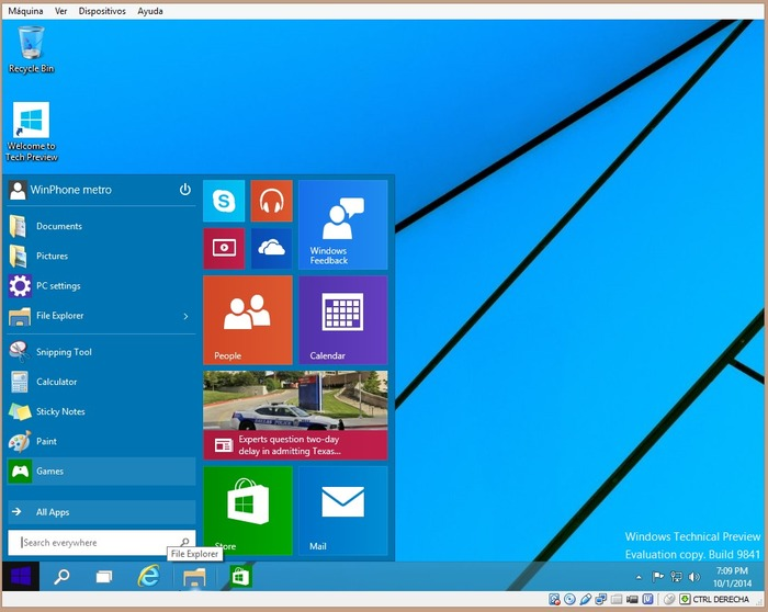 Windows 10 ya instalado