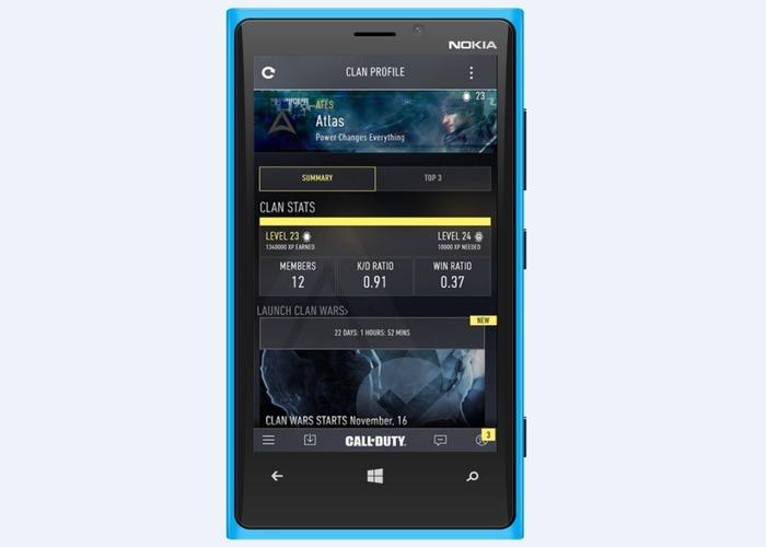 Call of Dury Advanced Warfare Windows Phone