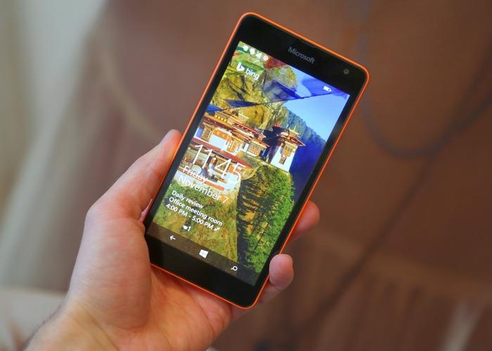Lumia 535 cabecera
