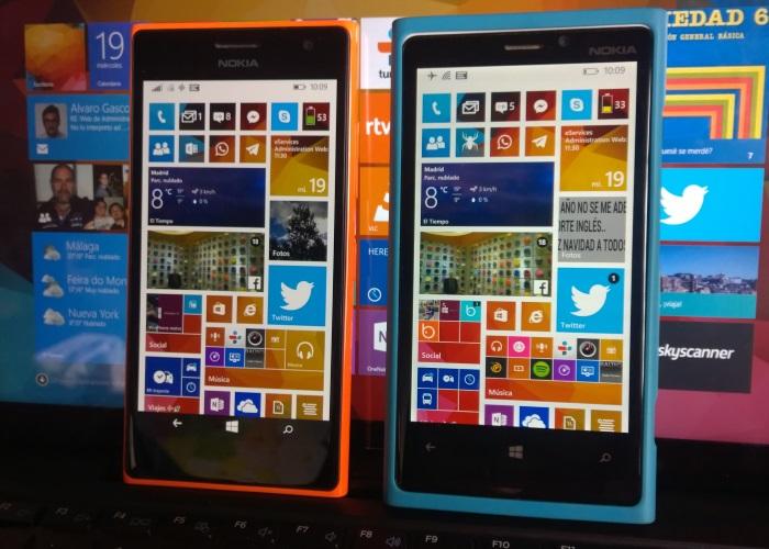 enfrentamos lumia 735 al lumia 920