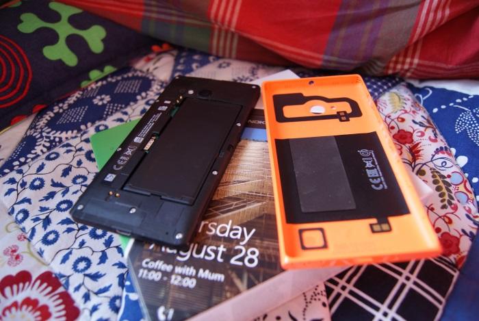 nokia lumia 735 carcasa y bateria