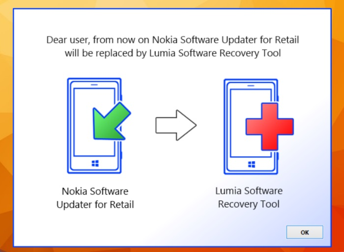 nsu for retail pasa a ser lumia software recovery tool