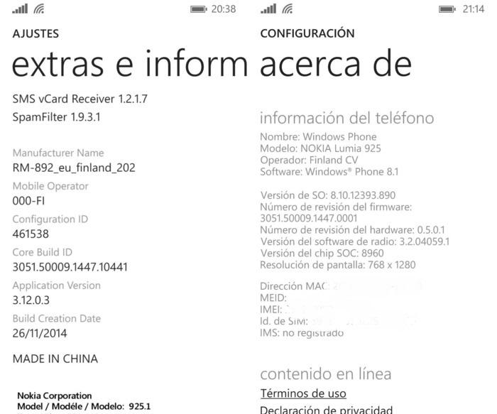 Actualizacion Lumia 925