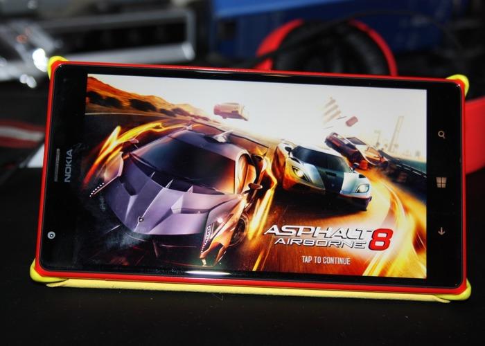 Asphalt 8 Airborne lumia 1520