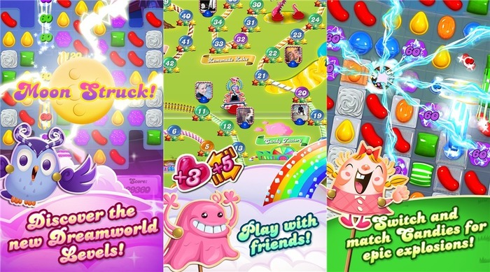 Candy Crush Saga capturas