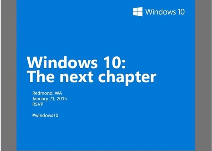 Evento Microsoft 21 enero