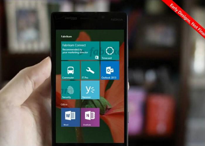 Windows 10 en smartphone