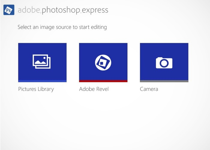 Adobe Phostoshop Express cabecera