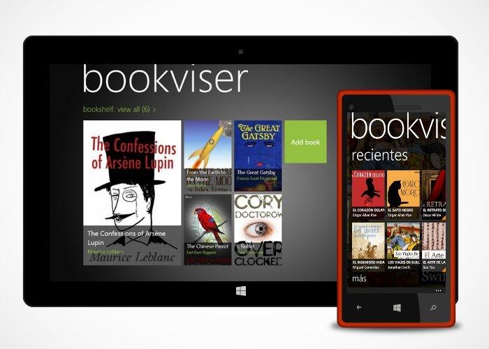 Bookviser Reader cabecera