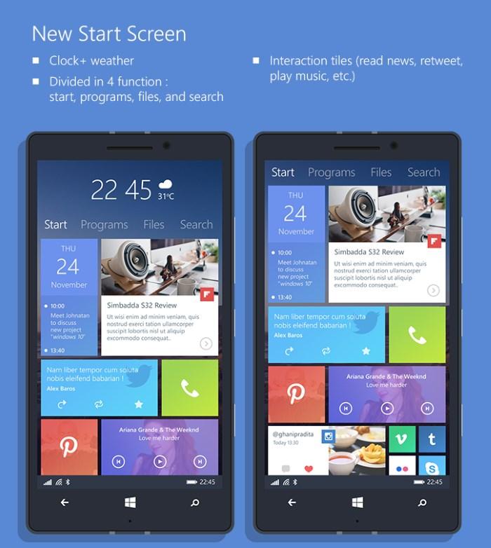 Concepto 1 Windows 10