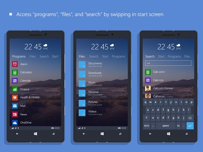 Concepto 3 Windows 10