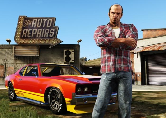 Grand Theft Auto V cabecera