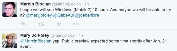 Jo Foley Windows Mobile 10