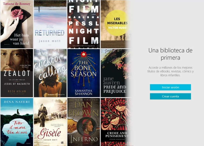 Kobo Books cabecera