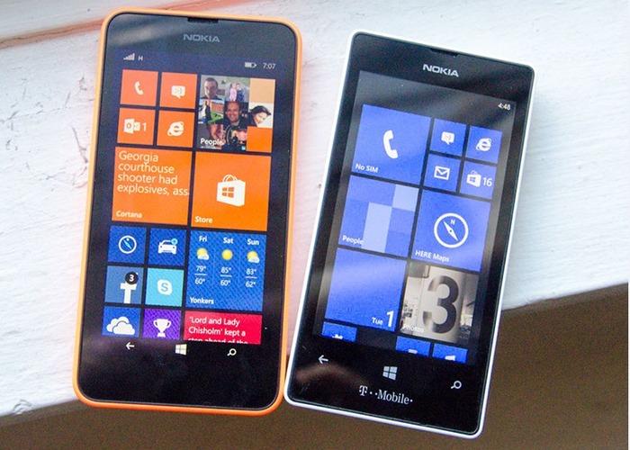 Lumia 630 y 520