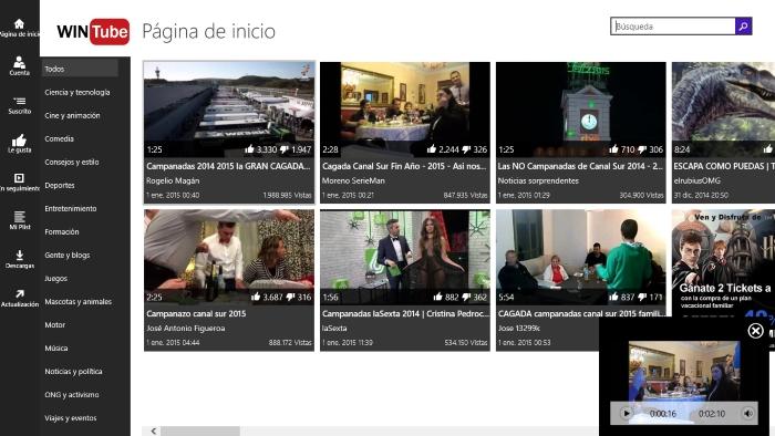 WinTube for YouTube