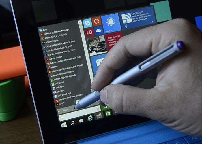 Windows 10 Surface Pro 3