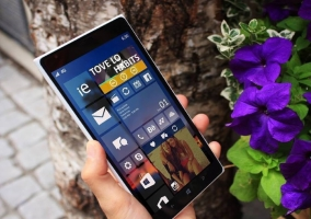 Windows 10 en un Nokia Lumia 1520
