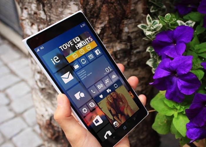 Windows 10 en un Nokia Lumia 1520